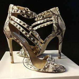 b9052f02a6 Steve Madden Shoes - Steve Madden Womens Meg Open Toe Strappy Dress San